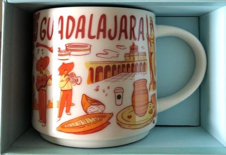 Starbucks City Mug Been There Guadalajara