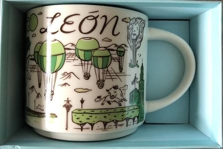 Starbucks City Mug Been There Leon