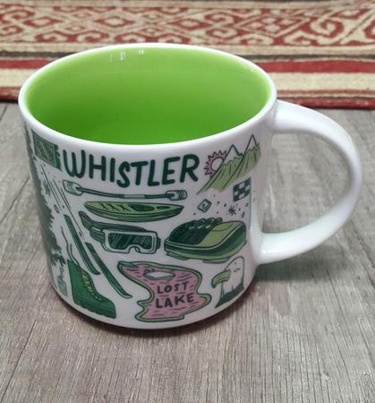 Starbucks City Mug 2018 Whistler Been There 14 oz