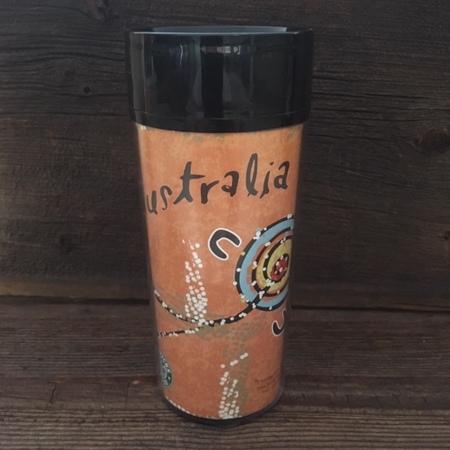 Starbucks City Mug 2000 Australia Aboriginal Tumbler