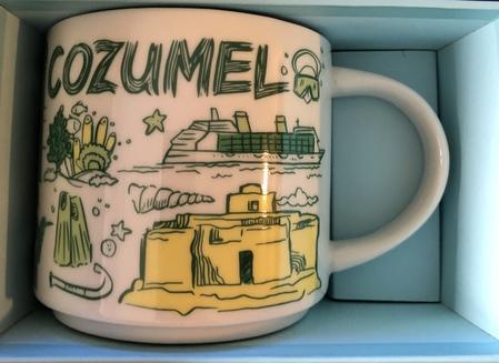 Starbucks City Mug Cozumel Been There Series