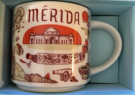 Starbucks City Mug Merida Been There Series