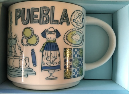 Starbucks City Mug Puebla Been There Series