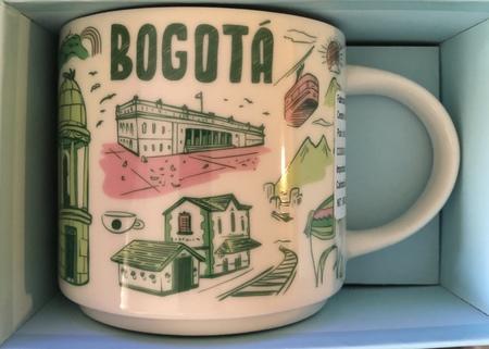 Starbucks City Mug Bogota Been There Series