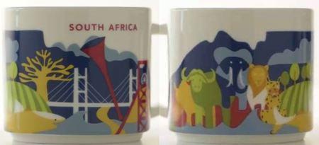 Starbucks City Mug South Africa YAH Mug