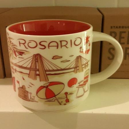 Starbucks City Mug 2018 Rosario Been There 14 oz