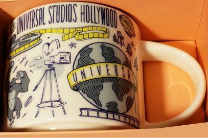 Starbucks City Mug Been There Universal Studios Hollywood