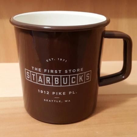 Starbucks City Mug 2018 Pike Place The First Store  Mug 14 oz