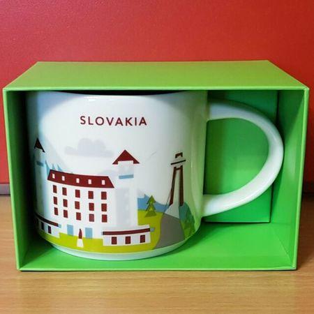Starbucks City Mug Slovakia YAH