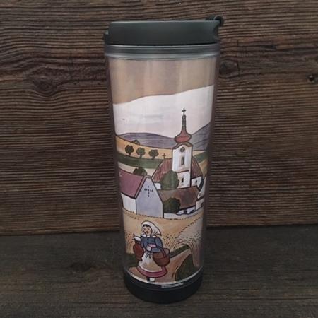 Starbucks City Mug 2008 Czech Artist Joseph Lada v1 Tumbler