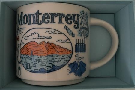 Starbucks City Mug Monterrey Been There Series