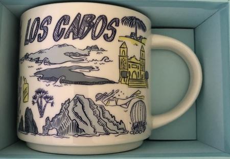 Starbucks City Mug Los Cabos Been There Series