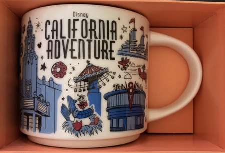 Starbucks City Mug Disney California Adventure Been There Series