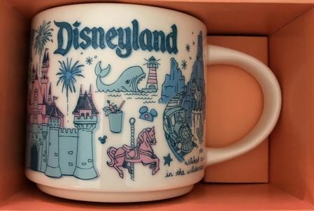 Starbucks City Mug Disneyland Been There Series