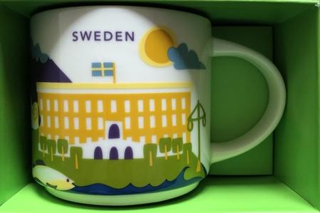 Starbucks City Mug Sweden YAH