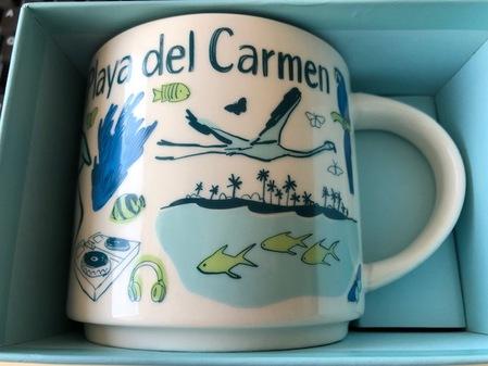Starbucks City Mug Playa Del Carmen Been There Series