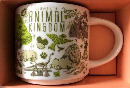 Starbucks City Mug Animal Kingdom Been There Series