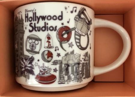 Starbucks City Mug Disney's Hollywood Studios Been There Series