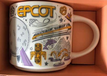 Starbucks City Mug Epcot Been There Series