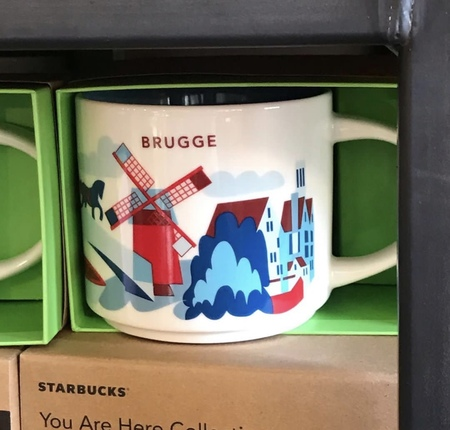 Starbucks City Mug Brugge YAH