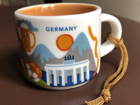 Starbucks City Mug Germany YAH Ornament mug