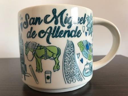 Starbucks City Mug San Miguel de Allende Been There Series