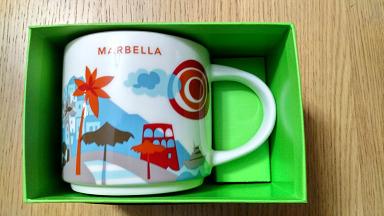 Starbucks City Mug Marbella YAH