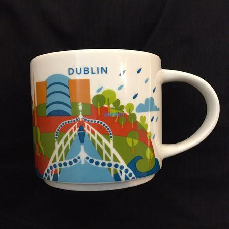 Starbucks City Mug Dublin You Are Here YAH Mug
