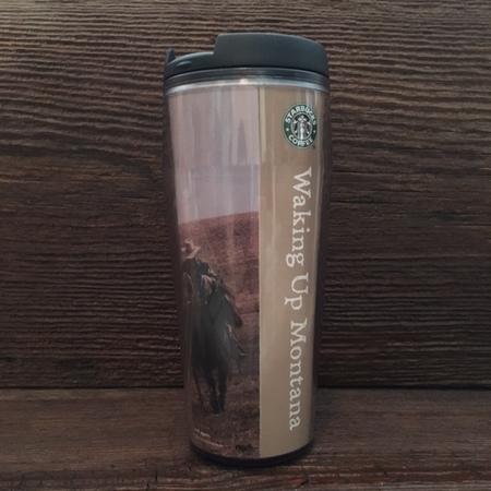 Starbucks City Mug 2003 Waking Up Montana Tumbler