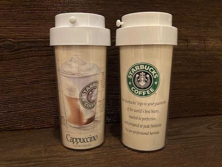 Starbucks City Mug 1988 Cappuccino Early Ad Campaign Tumbler