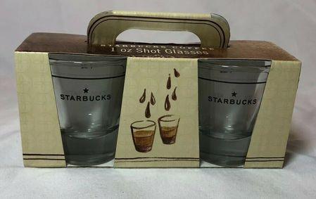 Starbucks City Mug Starbucks Coffee 2006 Espresso 1 OZ Shot Glass star logo