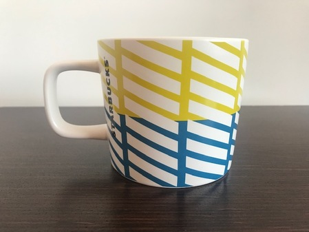 Starbucks City Mug Diagonals mug 12 fl oz