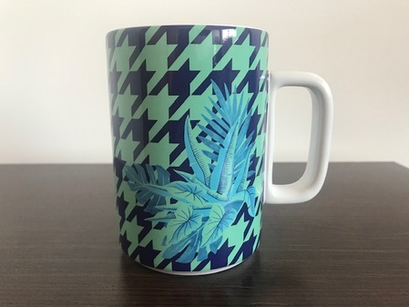 Starbucks City Mug Night flower mug 12 fl oz