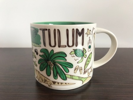 Starbucks City Mug Been There Tulum