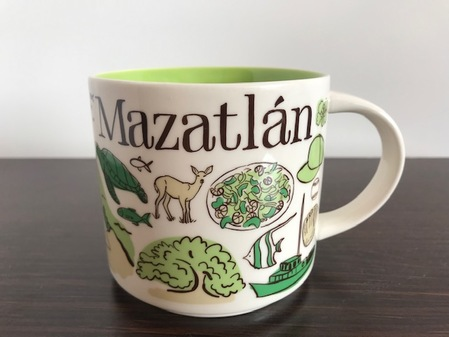 Starbucks City Mug Been There Mazatlán