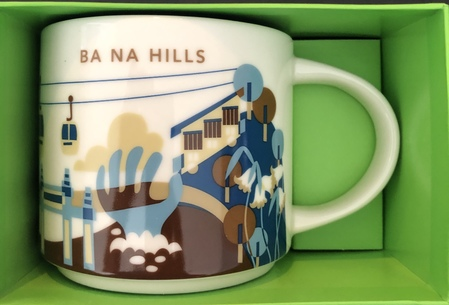 Starbucks City Mug Ba Na Hills Yah
