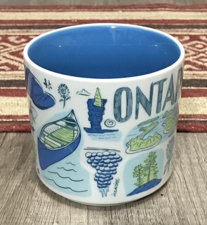 Starbucks City Mug 2018 Ontario v1 Been There 14 oz