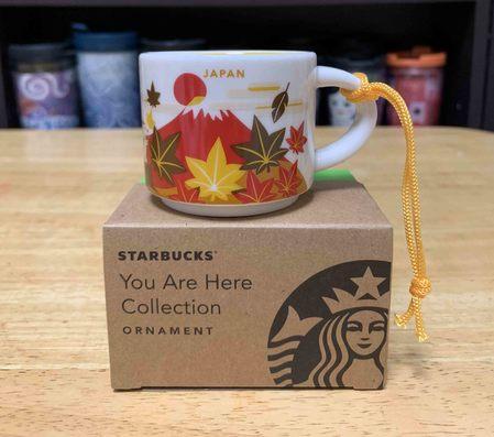 Starbucks City Mug 2019 Japan Aautumn YAH ornament