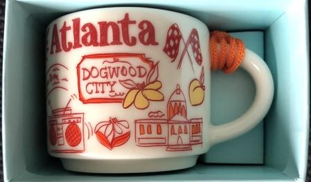 Starbucks City Mug Atlanta BTC ornament