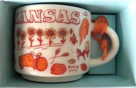 Starbucks City Mug Kansas BTC ornament