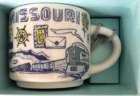 Starbucks City Mug Missouri BTC ornament