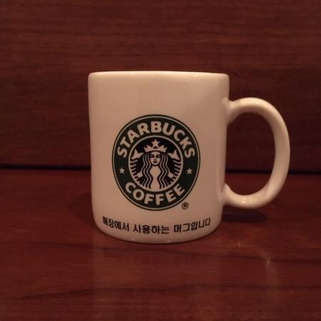 Starbucks City Mug Vintage South Korea Demitasse