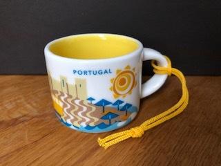 Starbucks City Mug Portugal YAH Ornament