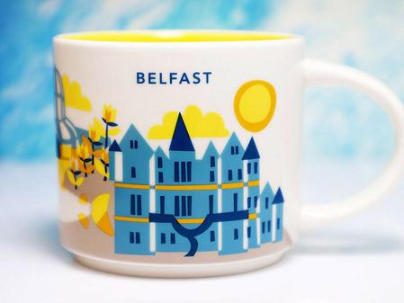 Starbucks City Mug Belfast YAH