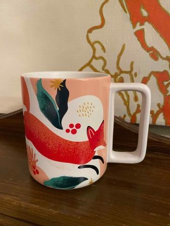 Starbucks City Mug 2019 12oz. Fox Holiday Mug