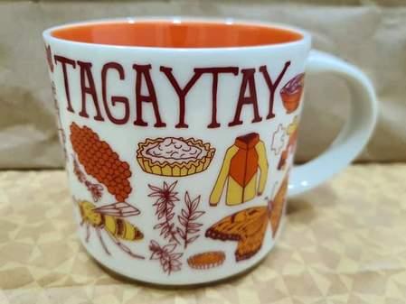 Starbucks City Mug 2019 Tagaytay Been There mug 14oz