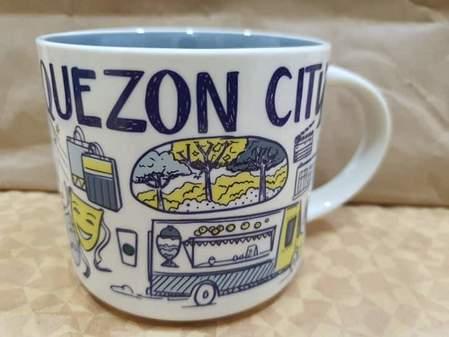 Starbucks City Mug 2019 Quezon City Been There mug 14oz
