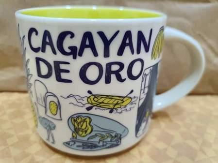 Starbucks City Mug 2019 Cagayan de Oro Been There mug 14oz