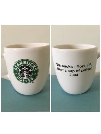 Starbucks City Mug York Roasting Plant mug