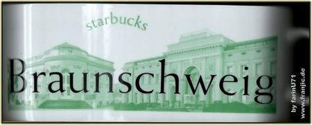 Starbucks City Mug Braunschweig